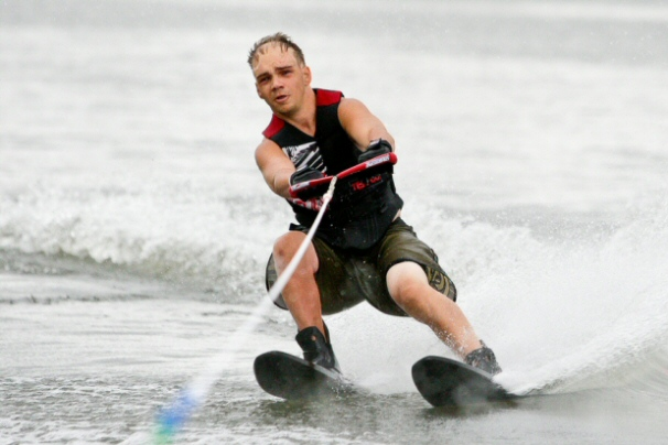 feature image of Ryan Riehl - Visually-impared Water Skier